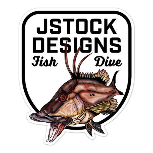 hogfish_fishdive_sticker